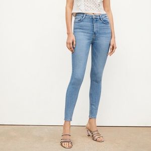 Zara Vintage Skinny High-Rise Jeans